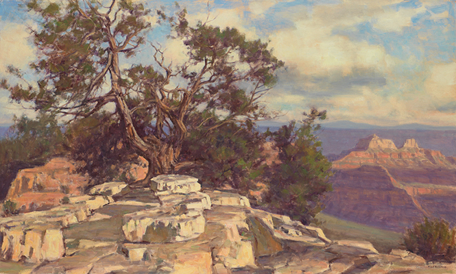 "Desert Scene, Grand Canyon | 30""x40"" 