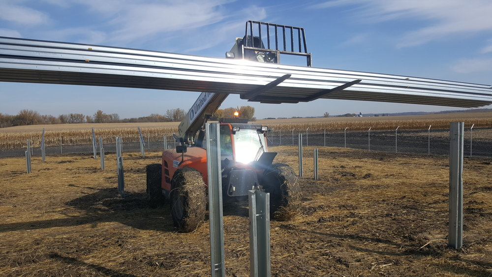 Owatonna, MN  /  Solar Power Farm