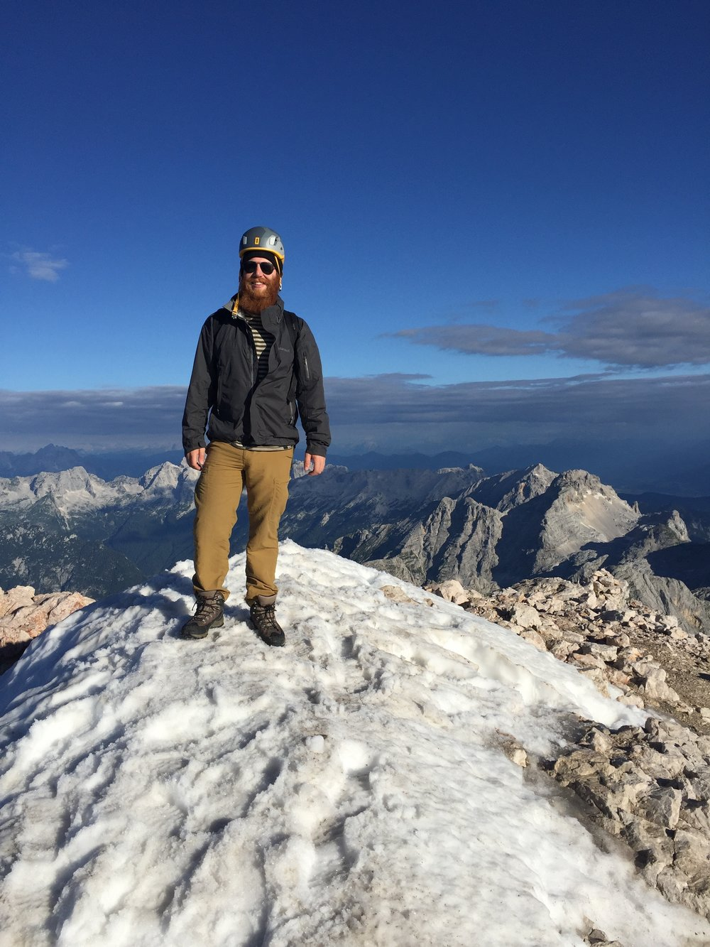 Summit of Mt. Triglav, Slovenia