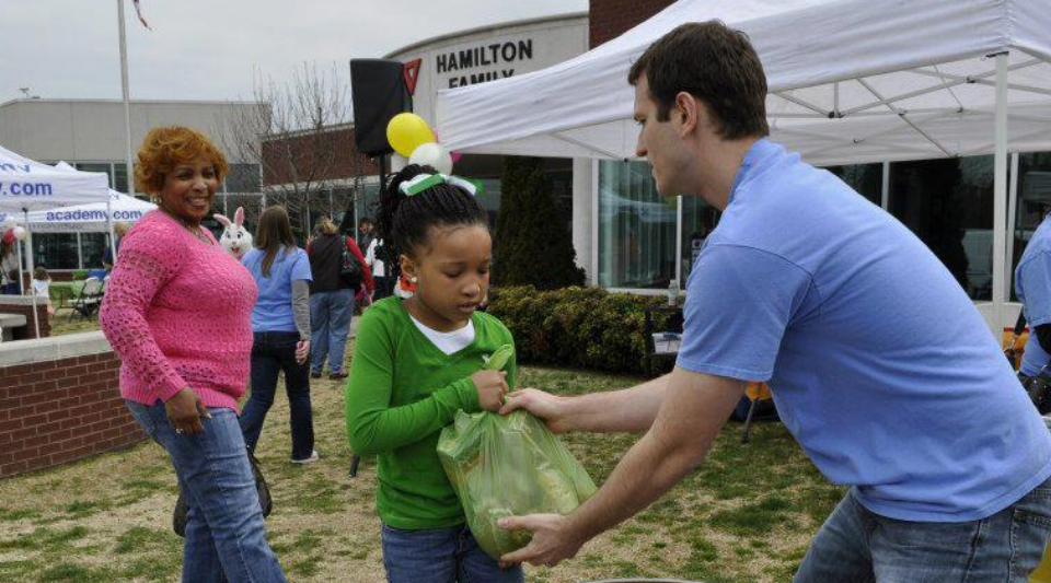 help out at our outreach events for the Chattanooga community