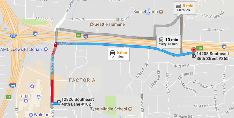 A new, temporary address for Systemic Dentist, effective Nov. 1, 2017:   14205 SE 36th Street #365,  Bellevue, WA 98006. We will be moving again to a Bellevue location being designed for our practice in summer 2018.