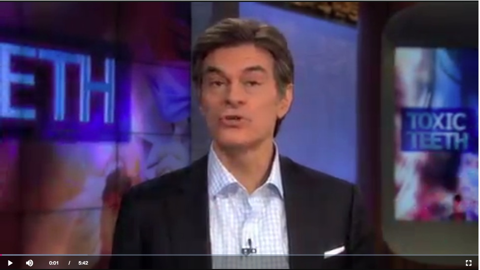 "In the opening of the episode ""Toxic Teeth:  Are Mercury Fillings Making You Sick?""  Dr. Oz speaks with experts who like Dr. Panahpour, are surprised that one of the most toxic substances on earth is still used in some dental practices."