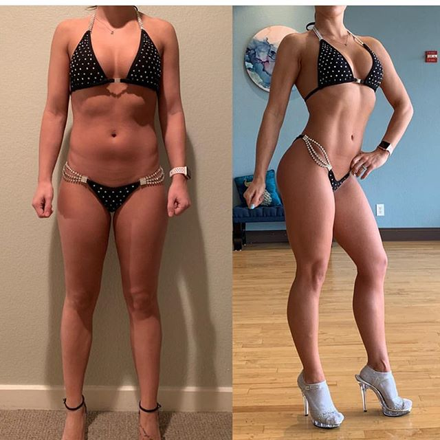 Client testimony! Jacoby is an awesome trainer! He is very knowledgeable and pushes me towards my goals daily. His positive attitude helps keep me motivated. - I have already made so much progress and I can't wait to see where I will be in a couple more months!  _ My client @brandi_bott 9 weeks out from her first bikini competition..