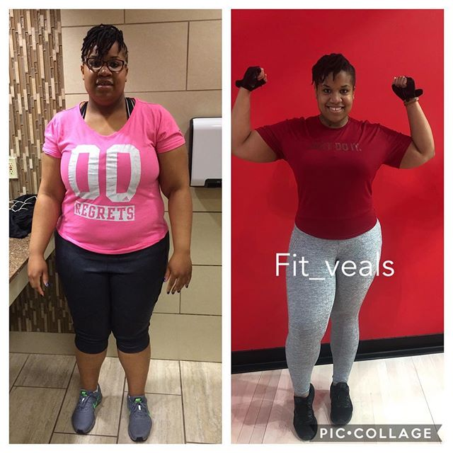 The only person you are destined to become is the person you decide to be. Nothing is impossible!  @ararejewel_rn Happy birthday!  _ Starting weight 312lbs  Now 219lbs She's now 7lbs away from dropping 100lbs 💪🏾 _ 👇🏼HOW TO SIGN UP 👇🏼 _ Simply click the link in bio or @fit_veals & fill out the 6 week Transformation Questionnaire as detailed as possible! _ #instafit #blackfitness #dallasfitness #ebonyfitfreaks #fit #fitness #gymlife #dedication #muscle #traindirty #ebonyfitness #popularpic #gains #workout #healthy #photooftheday #shredded #weightloss#instadaily #fitnessmotivation #model #weightlosstransformation #sixpack  #fattofit #workforit #vealsfitness #transformation