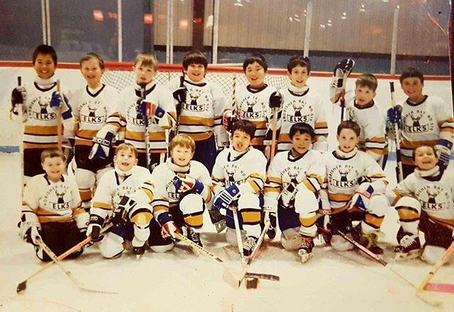 Josh used to be pretty pro at hockey 😄