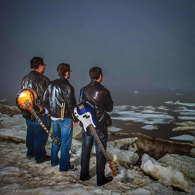 Throw back to our first Album cover photo shoot. #TBT #ArcticSoul 📷: @EdMaruyama
