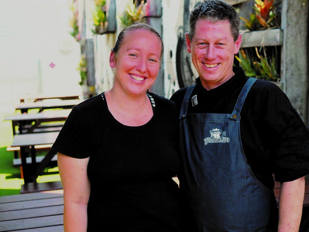 Misty & Dallas, Restaurant Owners. -