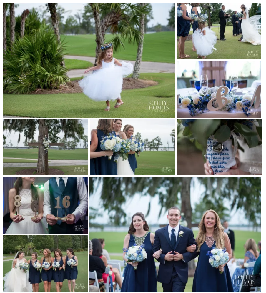 Bluegrass Chic Lake Nona Wedding Flowers Orlando