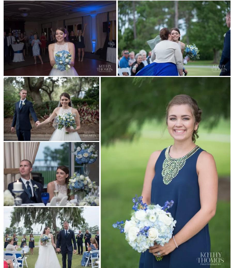 Bluegrass Chic Lake Nona wedding flowers 3