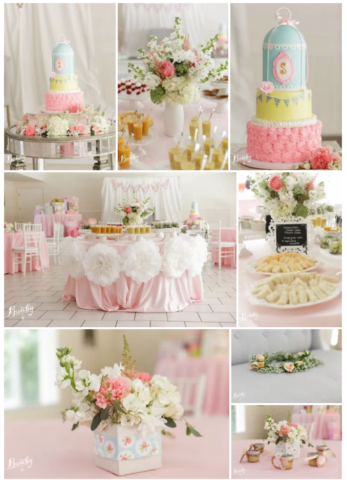 Bluegrass Chic baby shower