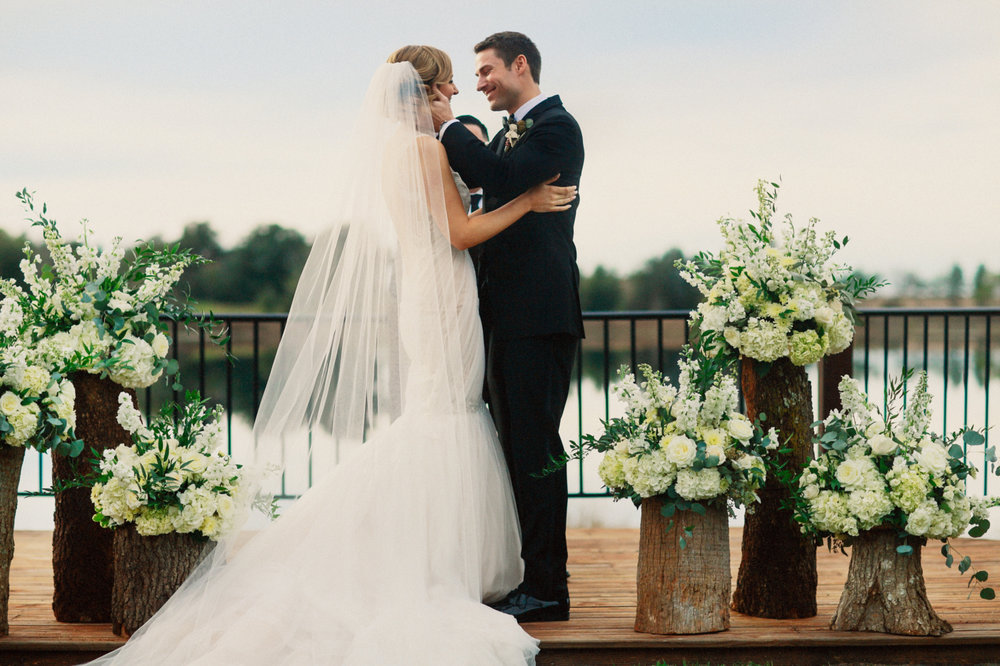 Bluegrass Chic - Romantic, Rustic Ceremony on the Lake