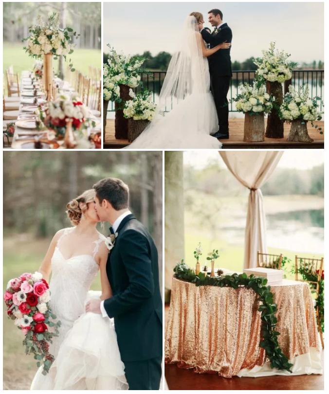 Bluegrass Chic - Rustic Elegance Wedding
