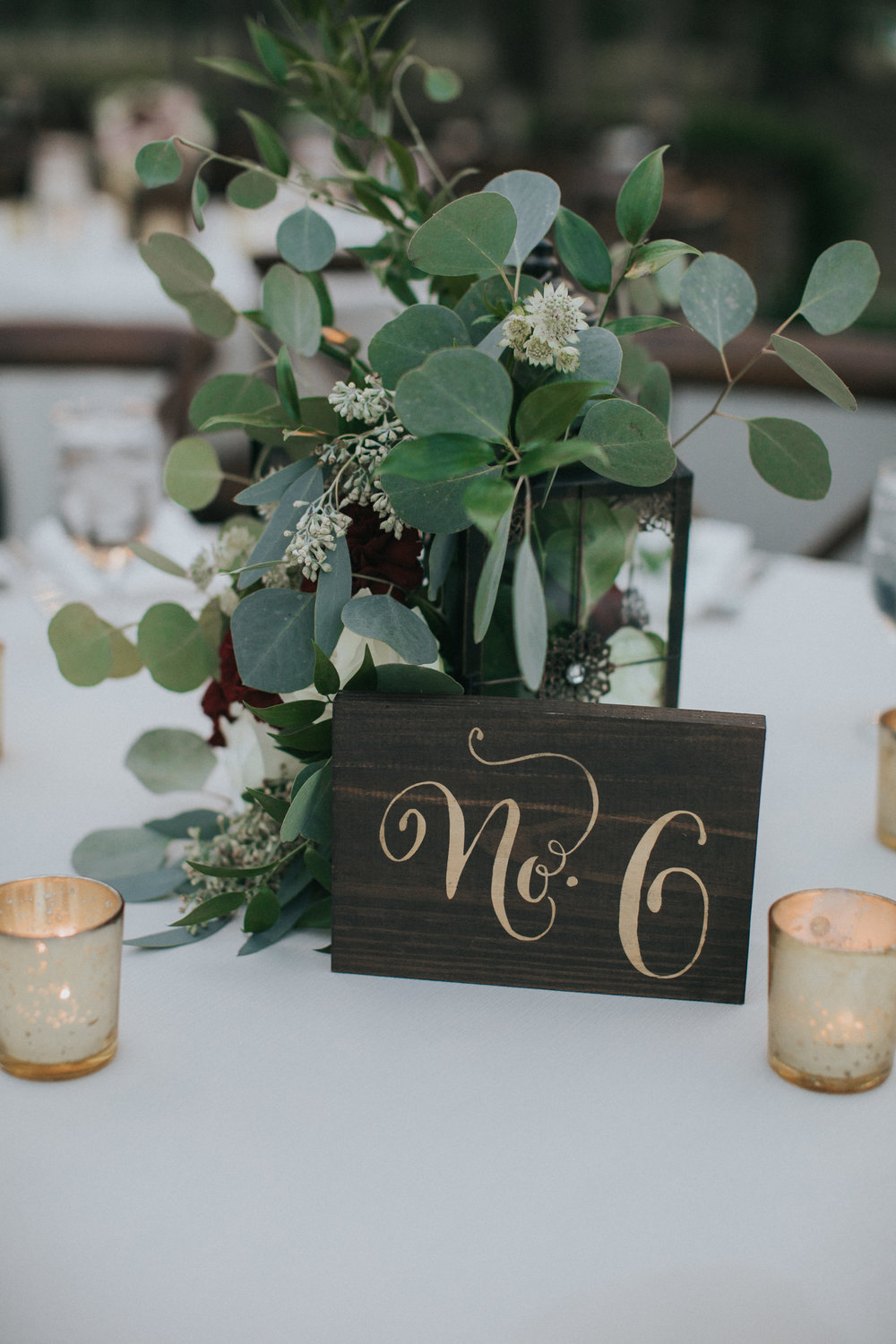 Bluegrass Chic - Lantern Centerpieces