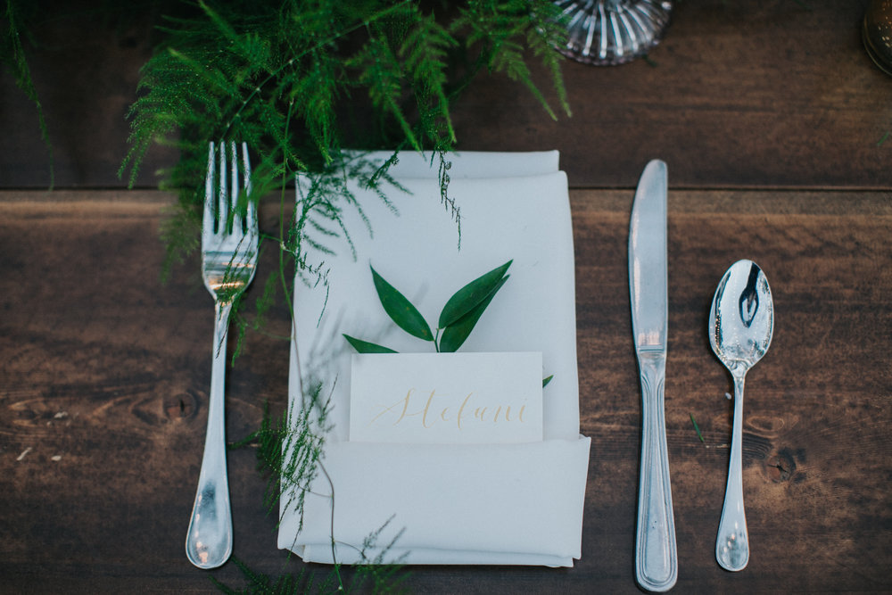 Bluegrass Chic - Place Setting Greenery