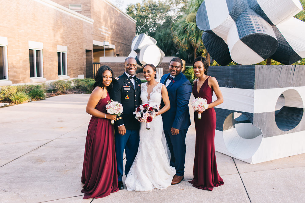 Bluegrass Chic - Military wedding