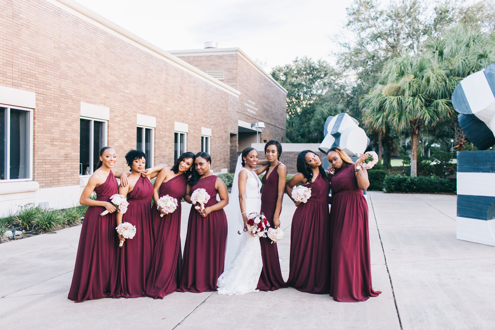 Bluegrass Chic - Burgundy and Navy Wedding