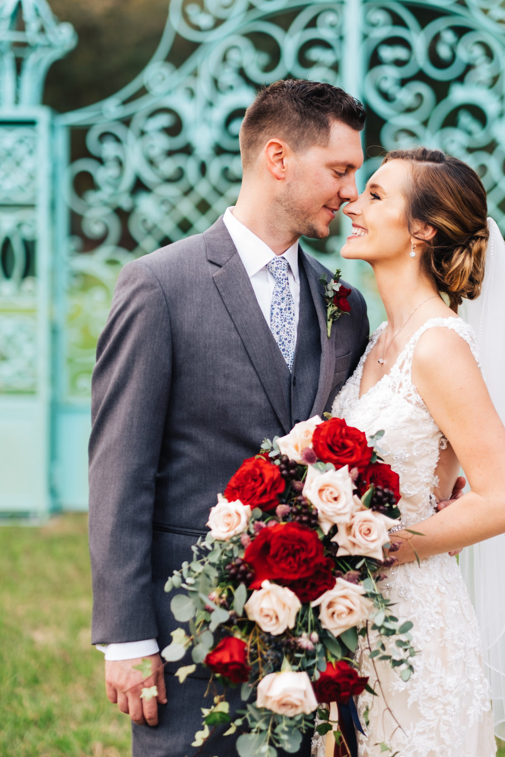 Bluegrass Chic - bride and groom