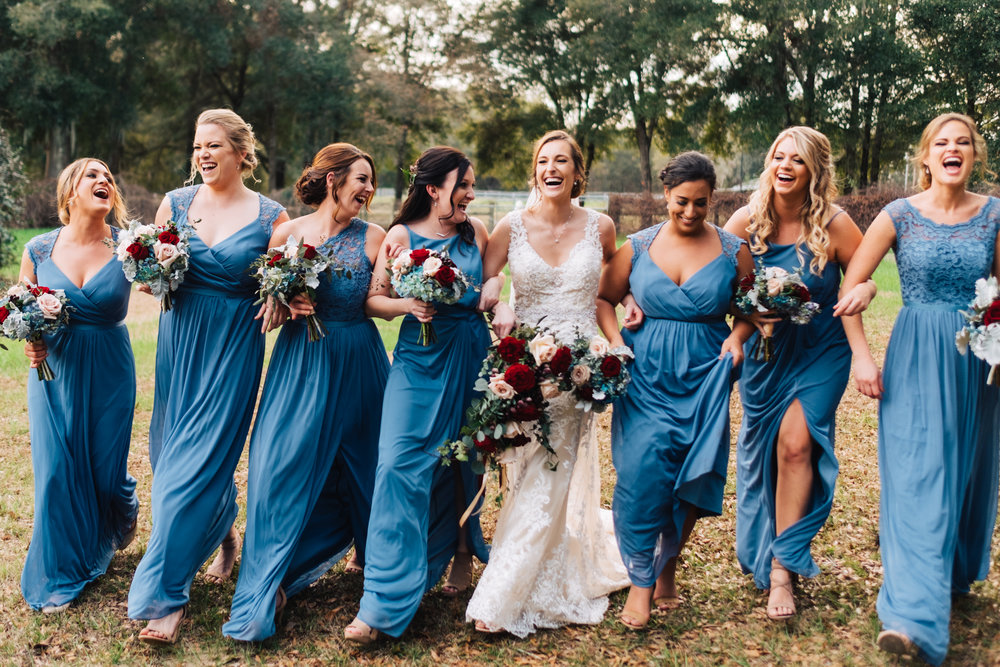 Bluegrass Chic - bridal party bouquets