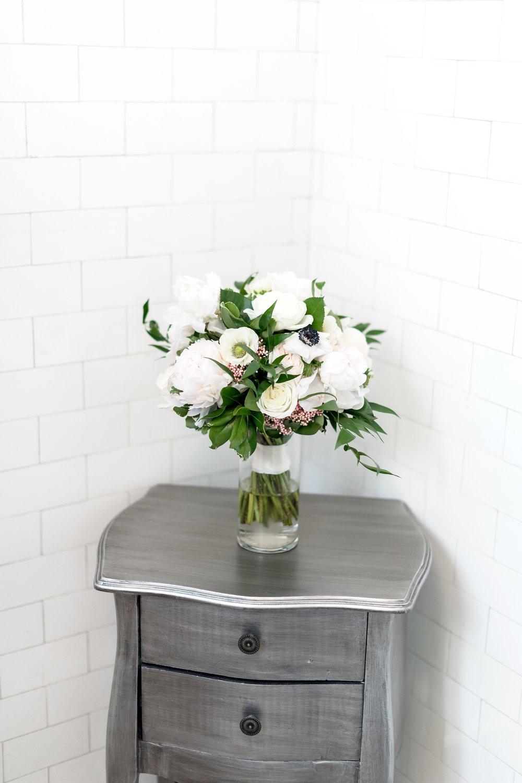 Blush and White Garden Bouquet