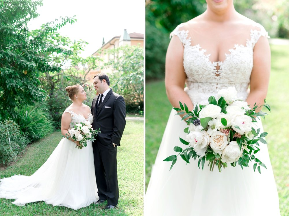 Bluegrass Chic - Blush and White Bridal Bouquet