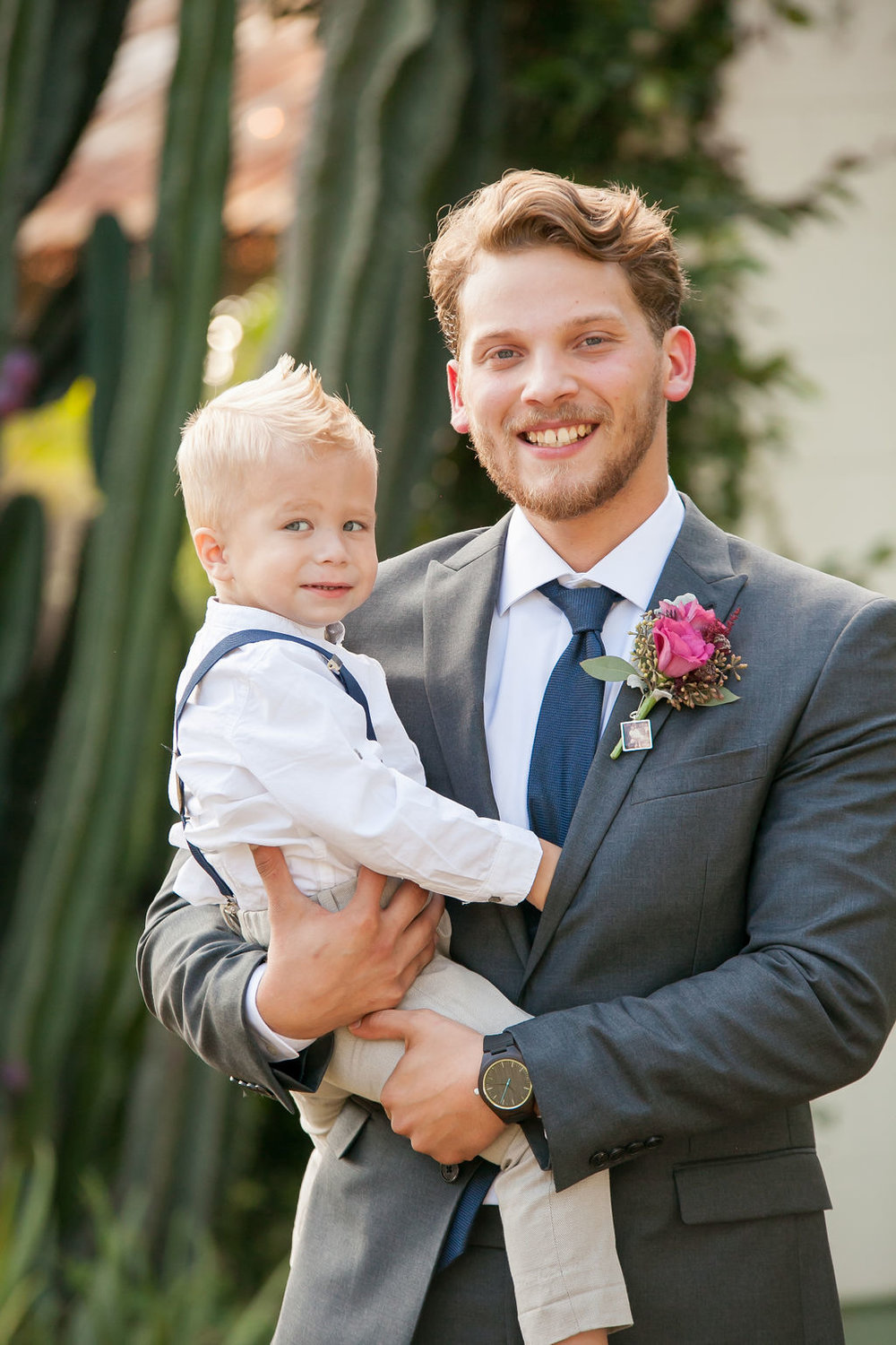 Bluegrass Chic - Groom with ring bearer