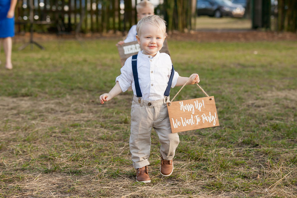 Bluegrass Chic - ring bearer here comes the bride