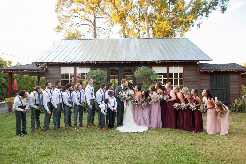 Bluegrass Chic - bridal party
