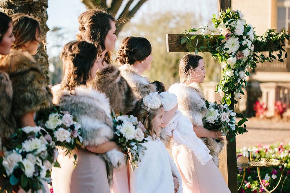 Bluegrass Chic - Bridesmaids Cross Floral