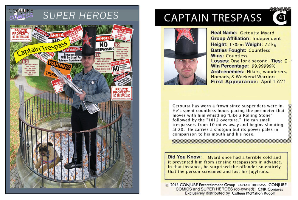 Conjure Comic Captain Trespass