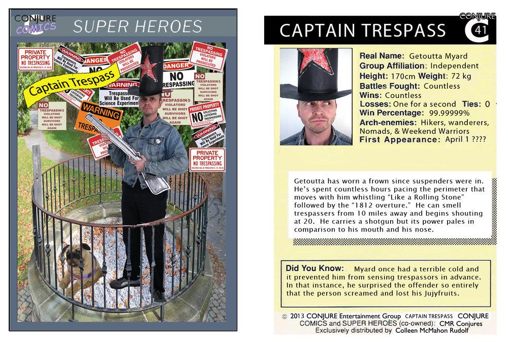 Conjure Comic Captain Trespass