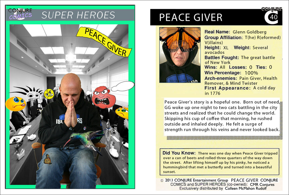 Conjure Comics Peace Giver