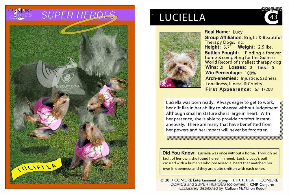 Conjure Comics Luciella