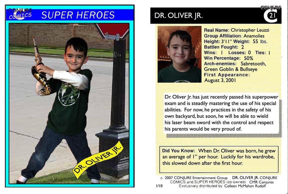Dr Oliver Jr.