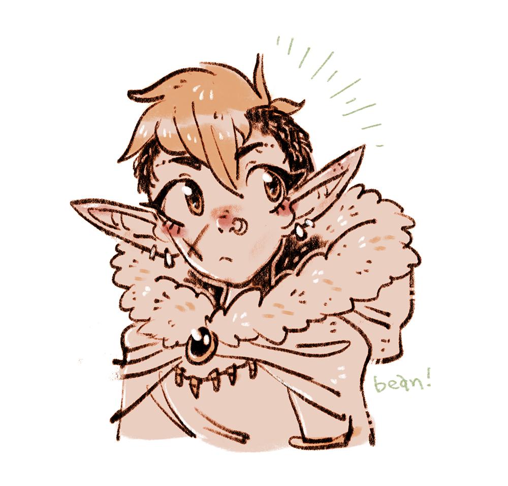 character portraits--elf