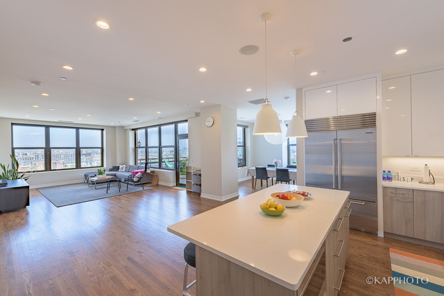 849 N Franklin, 3 bed 3 bath penthouse, $1,225,000