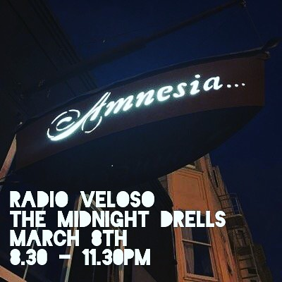 hopping on a bill with @radioveloso at @amnesia_sf next week! March 8th, come and get yo groove on.