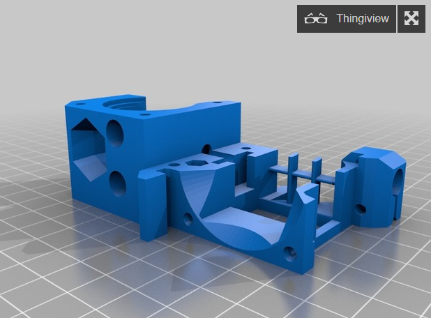 Prusa Mk3 adapter - For Mosquito
