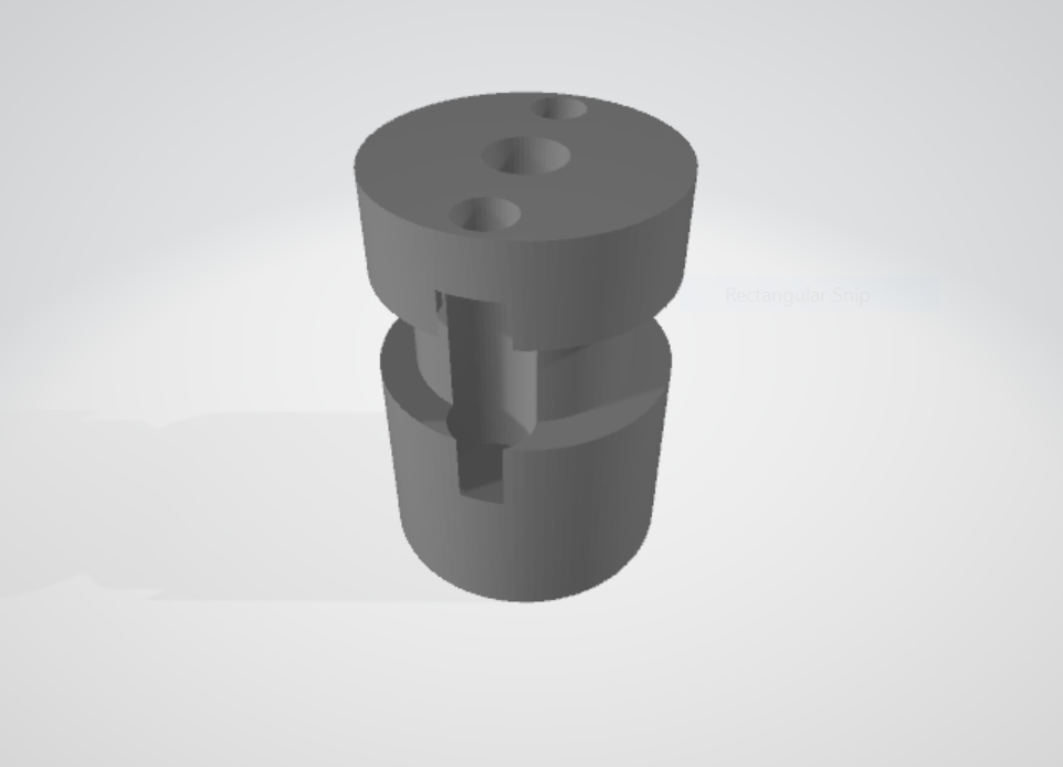 Groovemount for Bowden setups - Designed to mount to the Mosquito Hotend, and accommodate a quick-connect PTFE tube adapter