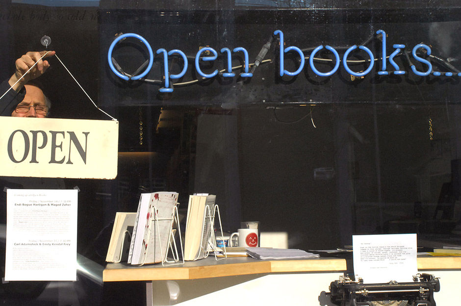 just a bus away: open books: a poem emporium - November, 2014