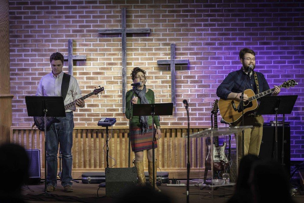 Faith Evangelical Free Church Sunday Service Worship Team Music Band