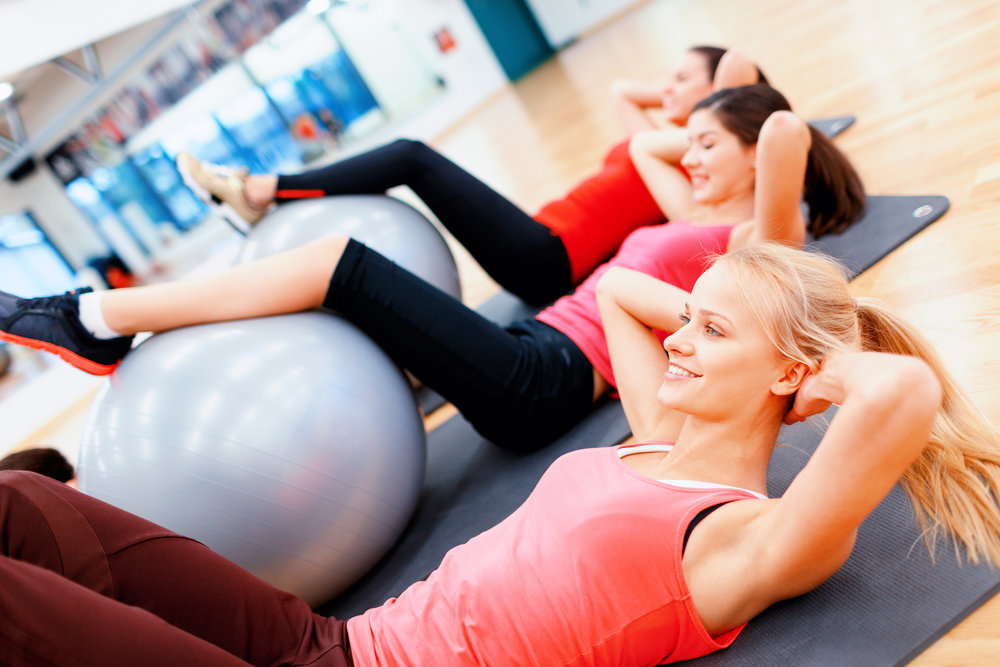 Pilates Class at Infinity Fitness in Falmouth, MA