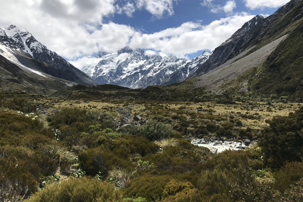 MOUNT COOK NATIONAL PARK - South Island, New Zealand