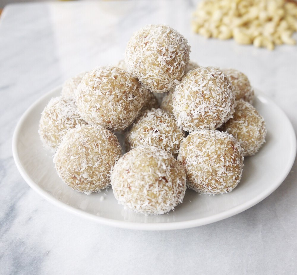 Coconut Lemon Bliss Balls - Image credit: @pretty_balanced