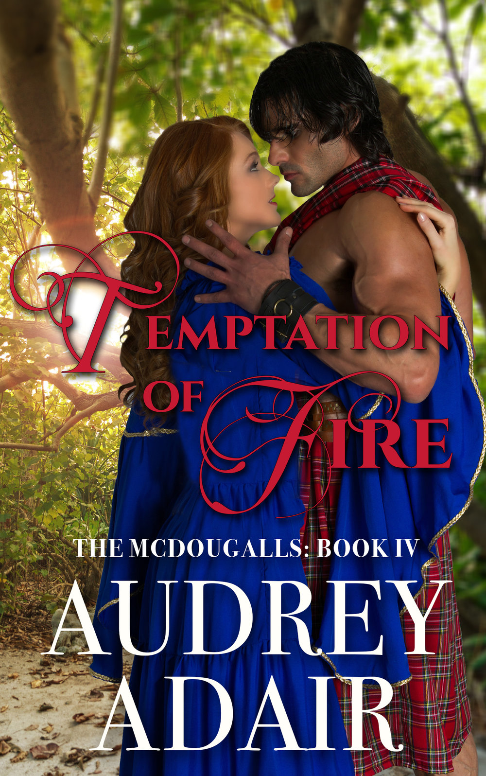 Temptation of Fire - I hope everyone is having a lovely week! I have had a few questions about my next books, and I promise, they are coming! I am busy working away on Roderick and Gwen's story. Good news -- the first draft is now complete and after another review, it will be off to the editor.While I don't have the book ready for you yet, this week I did want to share the title and the cover for the steamy version of the book. Next, I will share the sweet version! What do you think of this one?While you wait, be sure to catch up with the McDougall family -- the sweet and steamy versions of the books can be found below.Already read them? Then I have a few recommended reads for you to enjoy.Love always,Audrey