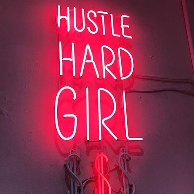 Monday motivation 💓 HUSTLE 💃🏼@beautycollectiveco