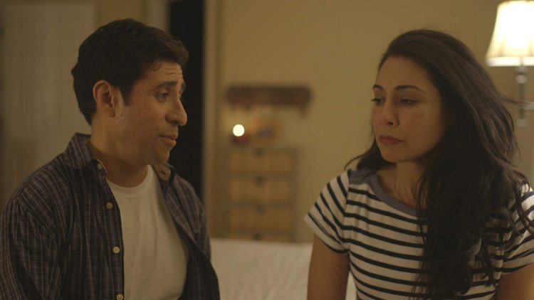 Pictured: Jasso as Magdalena opposite Armando Reyes as Miguel.
