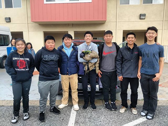 Please pray for these brothers and sister as they head to #peachspringsaz to visit the kids we met at #tkd camp this summer!