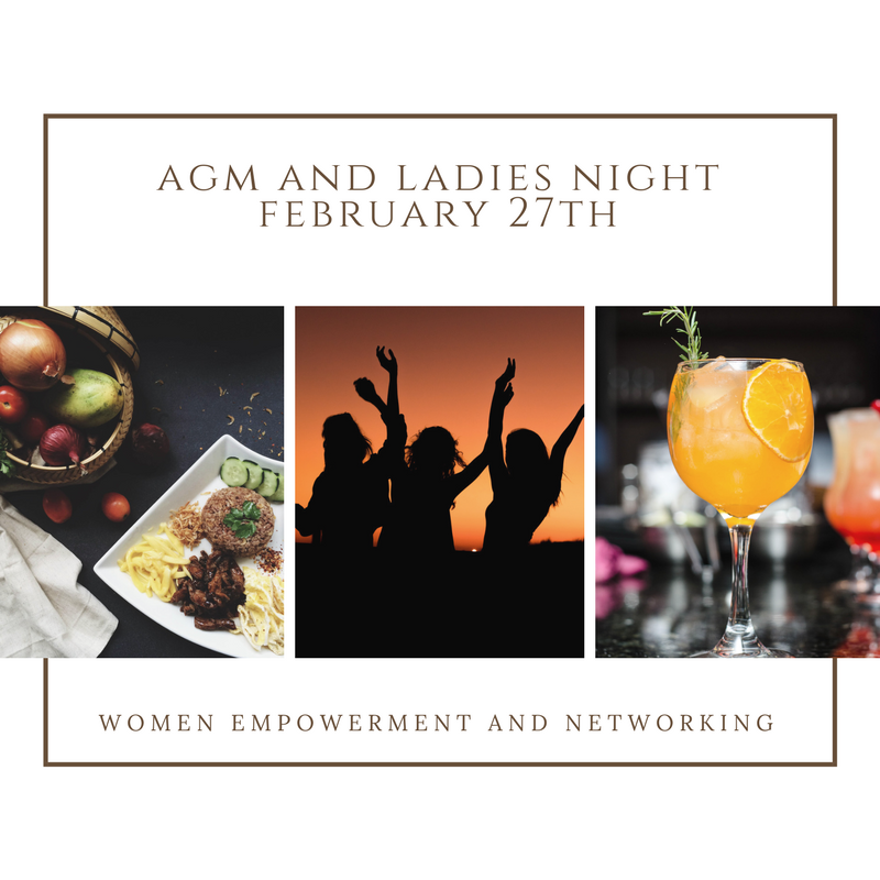 AGM and Ladies Business Night - February 27th 2018Save the date for a fun night out with the ladies at our Annual General Meeting/Ladies Business Night this coming February 27th starting from 7.30 (registration from 7pm)!Venue: IPPs office on 78 Shenton Way 079120 on level 31Pricing:Buy 1 ticket SGD 50.00 - includes entrance, nibbles &drinks and coach session.orSign up as a SWA member at SGD 80.00 and your ticket for this event is free!(Please remember to add a comment that you are attending the event)All excess funds go directly to our charity work!Nibbles and drinks by The Corner Store with exclusive invitation to the online store with discounts.Personal Profiling session by Cindy Leong from Relationship Studio.Lucky draws sponsored by Singapore Trading Post.Support & celebrate the new board members, who will volunteer their time to SWA and our local charity work in 2018.