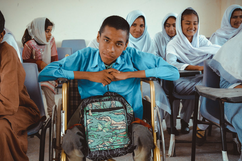 'I always wondered if I would feel welcome in my school. Now I do. I enjoy coming to school, learning lessons and know it is a good start to make my life.'   Rehan Qaisar, student at Pul Bajwan school in Punjab