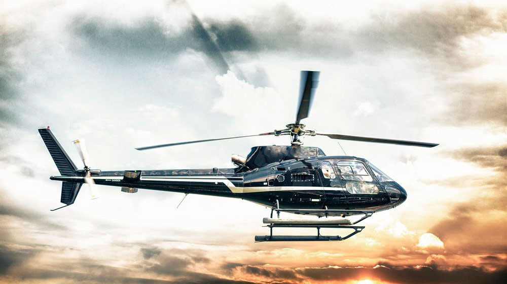 HELICOPTER TOURS -